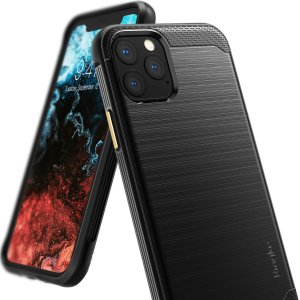Provide your iPhone 11 Pro Max with sleek, yet heavy duty protection and premium brushed metal look offering Ringke Onyx case. The precision-cut design and anti-slip finish will preserve the aesthetic and offer a great comfort whilst using your iPhone