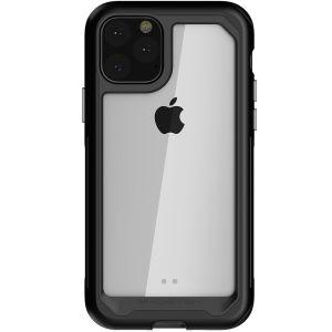 Varusta uusi Apple iPhone 11 Pro äärimmäisillä ja kestävimmillä suojauksilla! Pinkki Ghostek Atomic tarjoaa suojaa pudotuksilta ja naarmuilta pitäen puhelimen ohuena.
