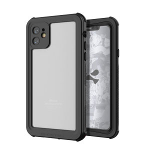 Shield your Apple iPhone 11 on both land and at sea with the extremely tough, yet incredibly stylish Nautical 2 Waterproof case from Ghostek in Black with red trim. Protecting your Apple iPhone 11 from depths of up to 1 meter for up to 30 minutes.