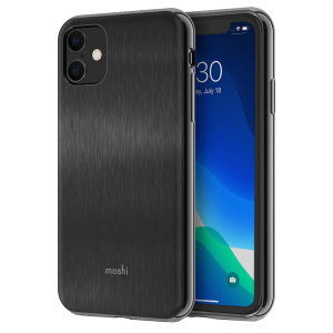 Protect your iPhone 11 with this stylish Moshi iGlaze hybrid case in Armour Black. The iGlaze provides exceptional protection and accentuates your iPhone 11's elegance through the use of premium materials.