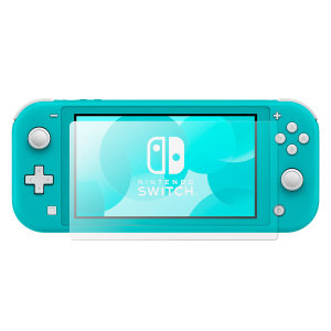 This ultra-thin tempered glass screen protector twin pack for the Nintendo Switch Lite console offers toughness, high visibility and sensitivity all in one package. Perfect for gaming without the risk of damaging your screen.