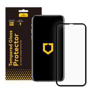 Protect your iPhone 11's display from scratches, buffs and unexpected chips with this impact-resistant screen protector from RhinoShield. Oleophobic coating resists fingerprints, while a slim profile maintains touch sensitivity and screen clarity.