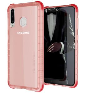 Custom moulded for the Samsung Galaxy A30s, the Ghostek tough case in Rosecolour provides a slim fitting, stylish design and reinforced corner protection against shock damage, keeping your Samsung Galaxy A30s looking great at all times.