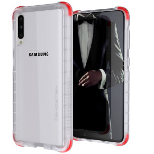 Custom moulded for the Samsung Galaxy A30s, the Ghostek tough case in Clear colour provides a slim fitting, stylish design and reinforced corner protection against shock damage, keeping your Samsung Galaxy A30s looking great at all times.