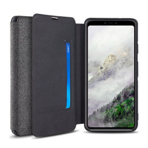 Olixar Canvas Google Pixel 4 Wallet Case - Grey