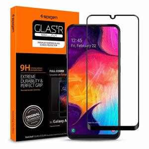 Introducing the ultimate in screen protection for the Samsung Galaxy A50s, the SGP GLAS.tR Series made from premium real glass with rounded edging and anti-shatter film. This screen protector is simple to install and offers great sensitivity.