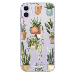 Give your iPhone 11 a down-to-earth new look with this plant design phone case from LoveCases. Cute but protective, the ultra-thin case provides slim fitting and durable protection against life's little accidents.