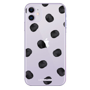 Give your iPhone 11 a playful refresh with this polka phone case from LoveCases. Cute but protective, the ultrathin case provides slim fitting and durable protection against life's little accidents.