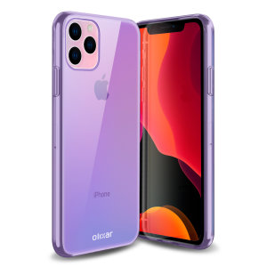 Custom moulded for the iPhone 11 Pro, this purple FlexiShield gel case from Olixar provides excellent protection against damage as well as a slimline fit for added convenience.