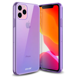 Custom moulded for the iPhone 11 Pro Max, this purple FlexiShield gel case from Olixar provides excellent protection against damage as well as a slimline fit for added convenience.