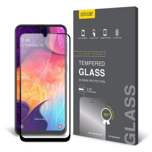 This ultra-thin tempered glass screen protector for the Samsung Galaxy A50s from Olixar offers toughness, high visibility and sensitivity all in one package.