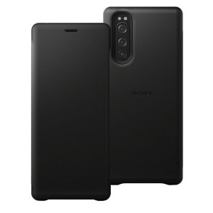 This Official Sony Leather Cover Case in Black is the perfect way to keep your Xperia 5 smartphone protected whilst keeping a stylish and sophisticated look. This leather case protects against scratches and bumps while being lightweight.