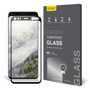 This ultra-thin tempered glass screen protector for the Google Pixel 4 XL from Olixar offers toughness, high visibility and sensitivity all in one package.