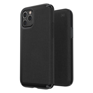 The Presidio FOLIO in black is a stylish phone case that provides premium protection against drops and scratches and adds additional screen privacy. This case is lightweight and slim making it convenient while looking sophisticated with a premium style.