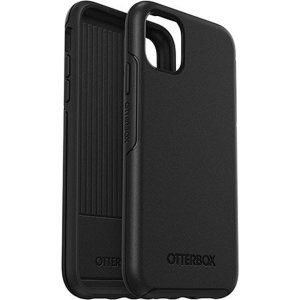 The dual-material construction makes the Symmetry black case for the iPhone 11 Pro Max one of the slimmest yet most protective case in its class. The Symmetry series has the style you want with the protection your phone needs.
