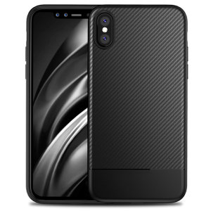 Olixar Carbon Fibre case is a perfect choice for those who need both the looks and protection! A flexible TPU material is paired with an eye-catching carbon print to make sure your Apple iPhone X is well-protected and looks good in any situation.