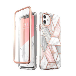 Blending fun, sass, and everything in-between, Cosmo is finally here for your iPhone 11 from i-Blason. Say goodbye to ugly scratches, scrapes, and falls with industry-leading drop protection, a built-in screen protector, and super sturdy TPU.