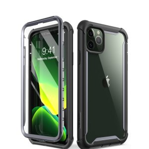 Shield your iPhone 11 Pro from drops, scratches, scrapes and other damage with the Ares case from i-Blason in Black. This case offers superb military grade all round protection while adding virtually no extra bulk to your device.