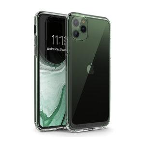 Protégez votre iPhone 11 Pro Max des chutes, des rayures et autres dommages avec la coque i-Blason UB Style en coloris transparent. Cette coque offre une protection de niveau militaire à votre smartphone sans lui ajouter de volume superflu.