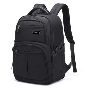 "The Olixar backpack in black combines 45L capacity with a water-resistant rugged material and multiple compartments to protect your laptop, tablet and any other accessories, whilst on the go. Compatible with laptops up to 15.6""."
