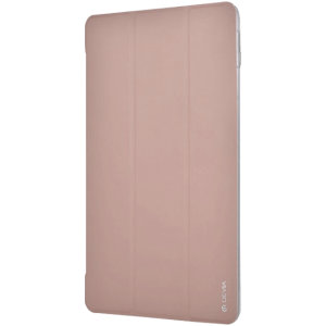 Keep your Apple iPad 10.2 protected from dust, debris and scratches with this anti-shock fold case from Devia in Gold. Smart and intelligent, this case folds offering hands-free viewing with stable support so you can enjoy your iPad 10.2 to the max!