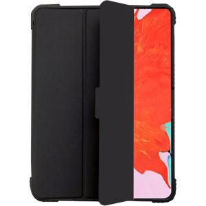 "Keep your Apple iPad 10.2"" protected from dust, debris and scratches with this Shockproof case from Devia in Black. Smart and intelligent, this case folds offering hands-free viewing with stable support so you can enjoy your iPad 10.2"" to the max."