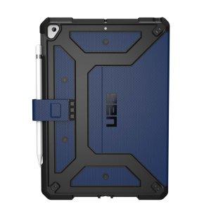 Rust je iPad 10.2 2019 uit met extreme militaire bescherming met de Metropolis-hoes van UAG.