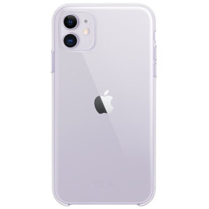 Official Apple iPhone 11 Crystal Clear Case - Clear