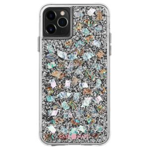 Adorned with genuine mother of pearl elements encased in clear resin from Case-Mate the Karat pearl will be an instant favourite. No two cases are the same meaning your Karat Pearl case truly will be one of a kind for your iPhone 11 Pro.