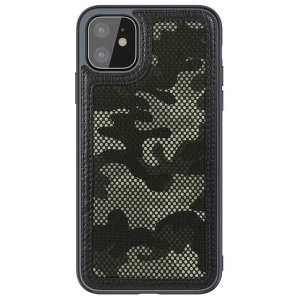 Nillkin Camo Cover iPhone 11 Tough Cover Case - Black