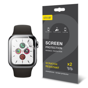 Olixar Apple Watch Series SE / 6 / 5 / 4 TPU Screen Protectors - 44mm