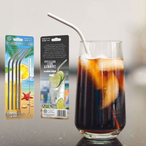 Want to add that touch of sophistication to any party or event? Then look no further as these stainless steel straws will make any event more smart, sophisticated and suitable. Not only that, but these Eco-friendly straws also protect the environment.