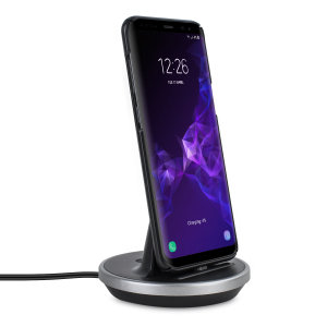 Synchronise and charge your Huawei Mate 30 Pro with this stylish and case compatible desktop dock which also acts as a multimedia stand.