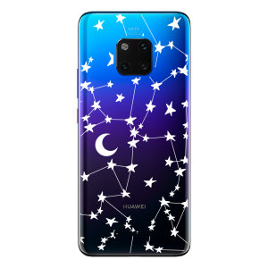 LoveCases Huawei Mate 20 Pro Clear Starry Phone Case
