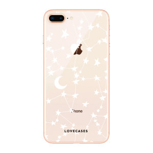 Give your iPhone 8 Plus a cute new look with this stars & moons design phone case from LoveCases. Cute but protective, the ultra-thin case provides slim fitting and durable protection against life's little accidents.