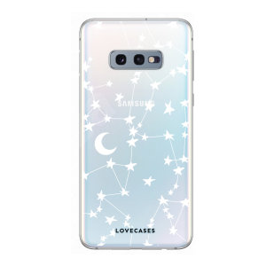 Give your Samsung S10e a cute new look with this stars & moons design phone case from LoveCases. Cute but protective, the ultra-thin case provides slim fitting and durable protection against life's little accidents.