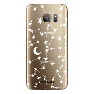 Give your Samsung S7 a cute new look with this stars & moons design phone case from LoveCases. Cute but protective, the ultra-thin case provides slim fitting and durable protection against life's little accidents.