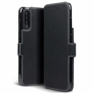 All the benefits of a wallet case but far more streamlined. The Olixar Low Profile in black is the perfect partner for the Samsung Galaxy A70s owner on the move. What's more, this case transforms into a handy stand to view media.