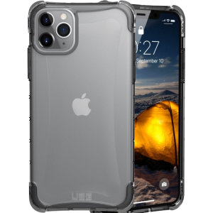 The Urban Armour Gear Plyo semi-transparent tough case in Ice for the iPhone 11 Pro Max features reinforced Air-Soft corners and an optimised honeycomb structure for superior drop and shock protection.