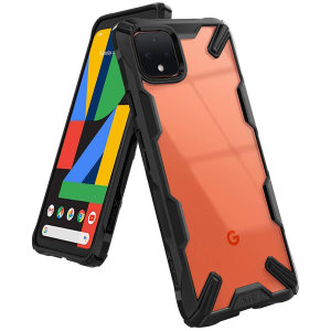 Ringke Fusion X Google Pixel 4 Tough Case - Black