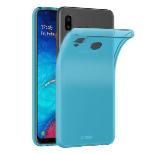 Olixar FlexiShield Samsung Galaxy A30 Gel Case - Blue