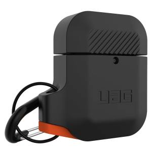 Add superior protection to your Apple AirPods case with this stylish, sleek and minimalist silicone cover from UAG. The cover allows full access to your AirPods and their charging case while giving peace of mind by protecting from scratches and scrapes.