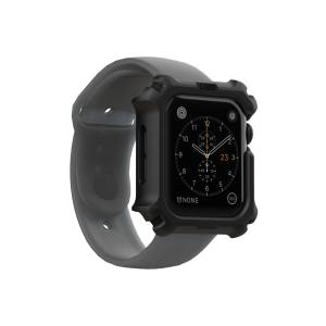 The UAG Apple watch case in Black is the new leader in lightweight protective cases. The new Feather-light composite construction reduce the thickness of the case while providing optimal protection for your Apple Watch Series 4 / 5.