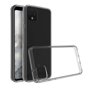 Custom moulded for the Google Pixel 4, this clear Olixar ExoShield tough case provides a slim fitting stylish design and reinforced corner shock protection against damage, keeping your device looking great at all times.