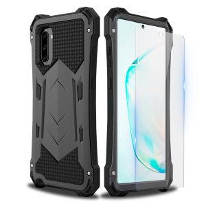 Protección completa para el Samsung Galaxy Note 10 de la mano de Olixar. La funda Olixar Titan Armour 360 está fabricada con tres capas, con lo que es muy resistente a golpes, y con un protector de pantalla.