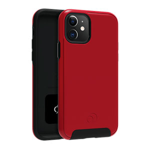 Equip your iPhone 11 with premium protection with the new Cirrus  2 Case in Crimson from Nimbus9. With a luxury feel and ultimate protection, this case ensures you are ready for any occasion with added convenience of a strong built-in magnet.