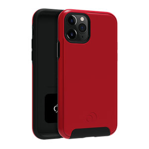 Equip your iPhone 11 Pro with premium protection with the new Cirrus  2 Case in Crimson from Nimbus9. With a luxury feel and ultimate protection, this case ensures you are ready for any occasion with added convenience of a strong built-in magnet.