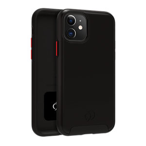 Equip your iPhone 11 with premium protection with the new Cirrus  2 Case in Black from Nimbus9. With a luxury feel and ultimate protection, this case ensures you are ready for any occasion with added convenience of a strong built-in magnet.