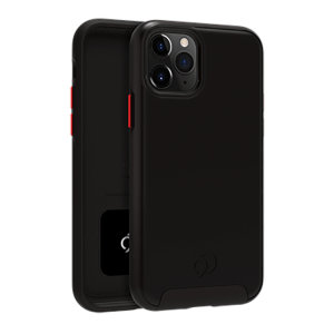 Equip your iPhone 11 Pro with premium protection with the new Cirrus  2 Case in Black from Nimbus9. With a luxury feel and ultimate protection, this case ensures you are ready for any occasion with added convenience of a strong built-in magnet.
