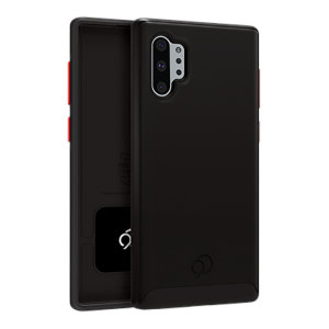 Equip your Samsung Galaxy Note 10 Plus with premium protection with the new Cirrus  2 Case in Black from Nimbus9. With luxury feel & ultimate protection, this case ensures you are ready for any occasion with added convenience of a strong built-in magnet.